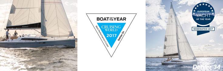 Dehler 30 Best Yacht of the Year 2017